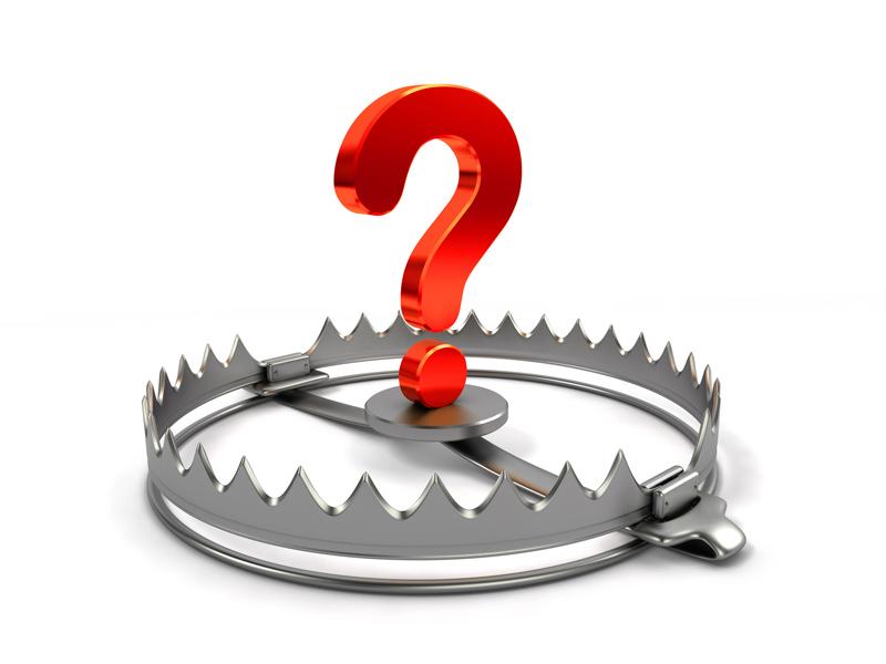 trap question