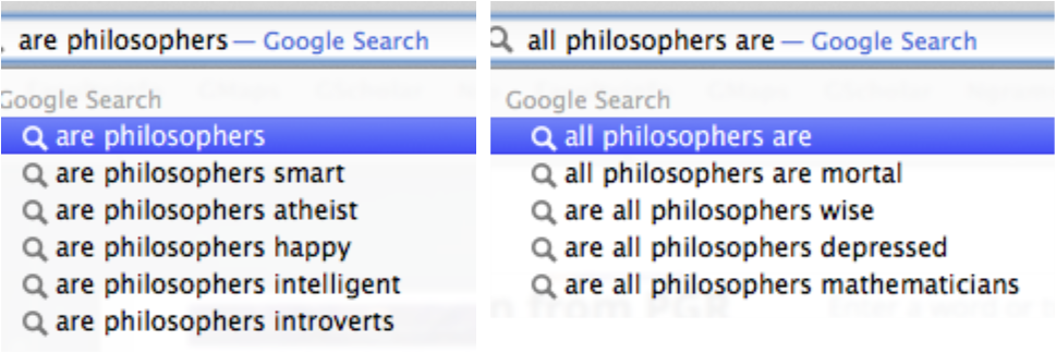 google on all are phil