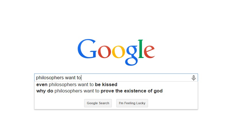 google philosophers want to