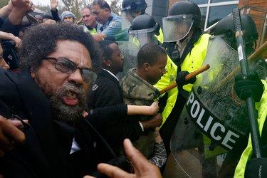West arrested