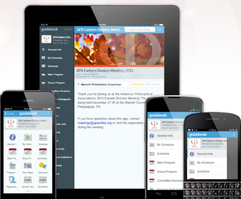 APA Guidebook app