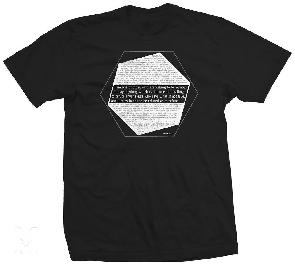 Daily Nous t-shirt threadbird mock-up unisex