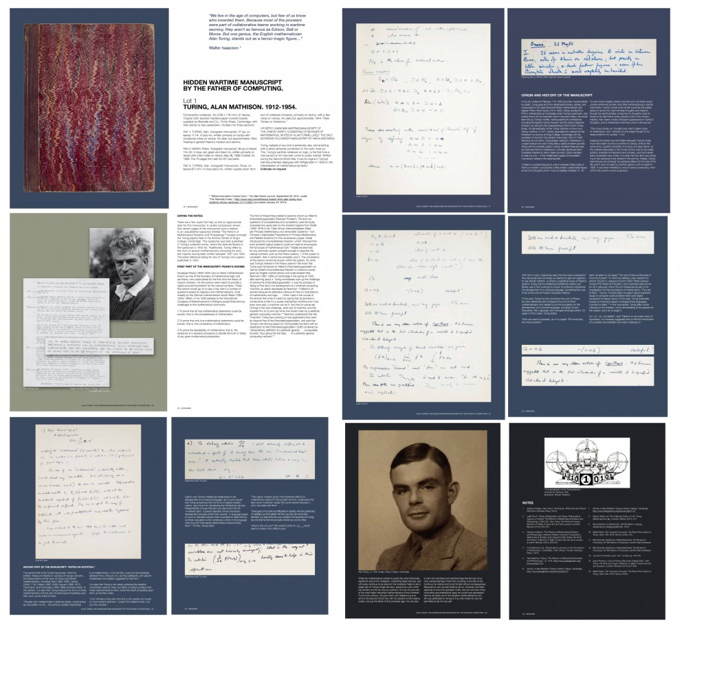 Turing Bonhams Catalog 2