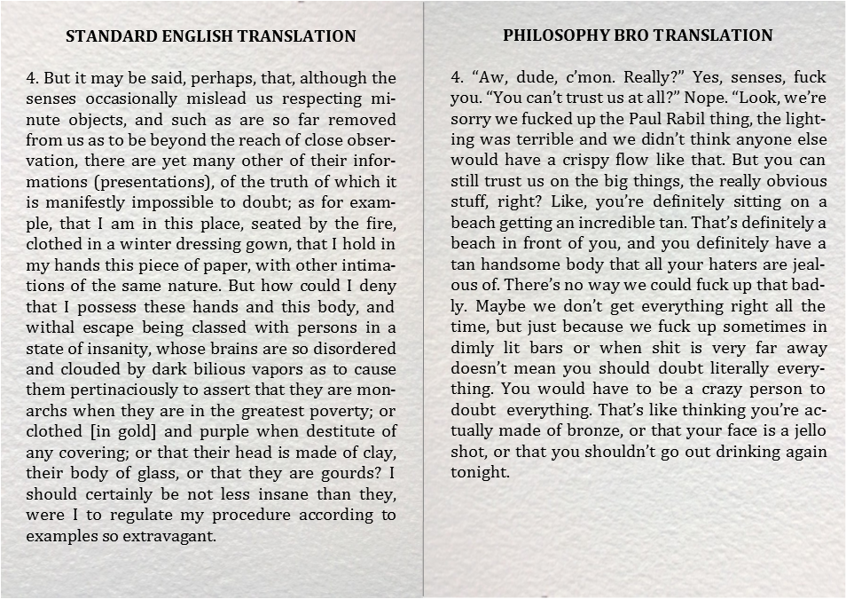 philosophy bro meditations translation