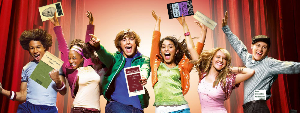 High School Musical philosophy books crop copy