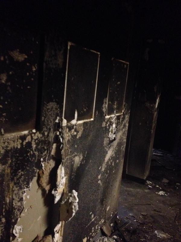 Stuart Hall Chicago fire interior 2