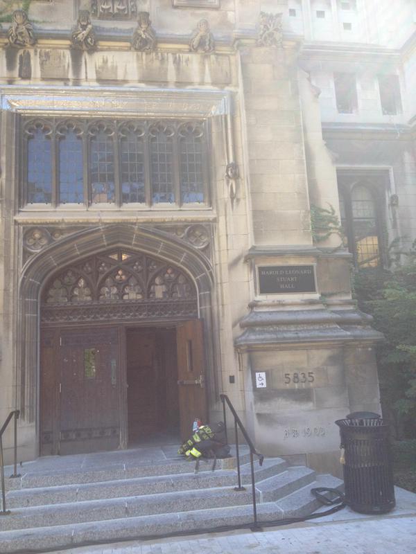 Stuart Hall Chicago fire