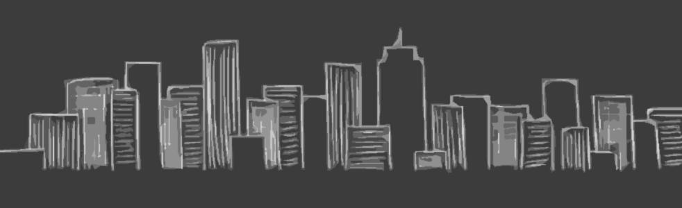 blackboard skyline