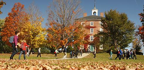 College scene