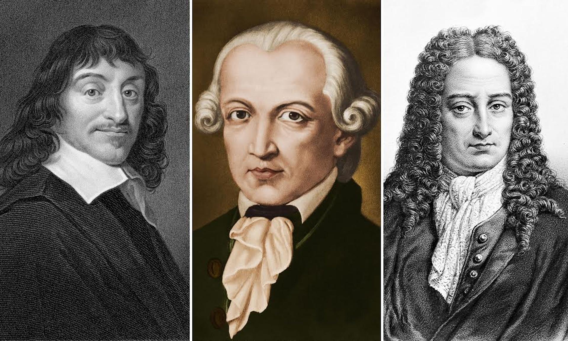 Descartes Kant Leibniz