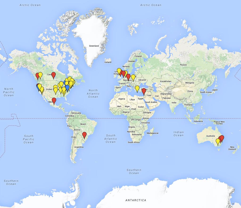 Minds Online Map