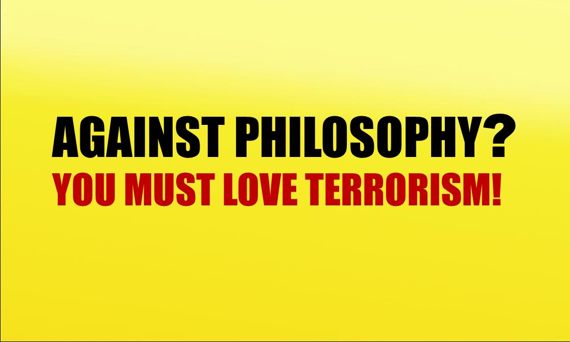against philosophy large