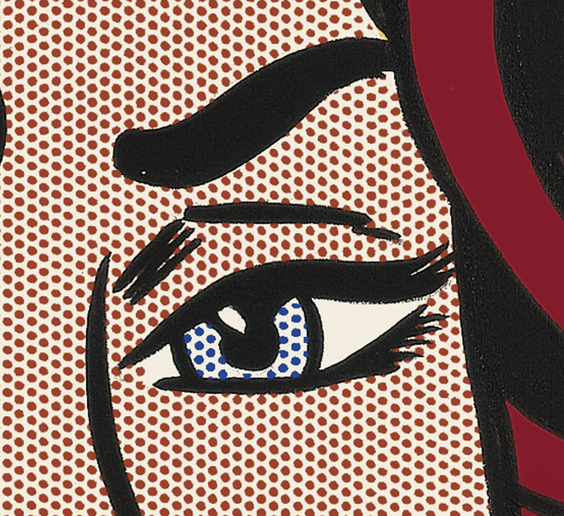 Lichtenstein Ohh Alright detail 2