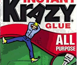 krazy glue footer