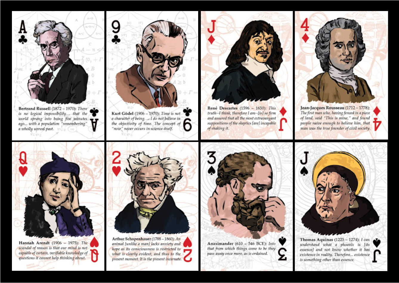 philosopher playing cards 8