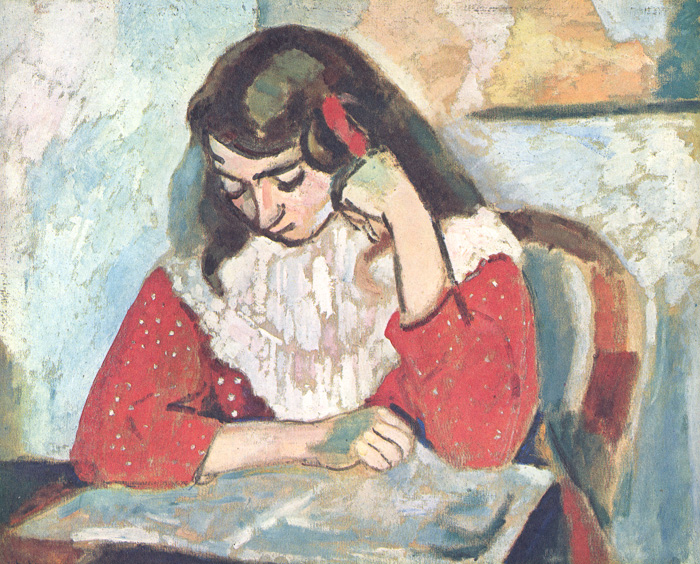 Matisse - Marguerite Reading