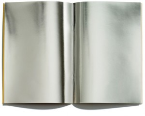 mirrored book pages