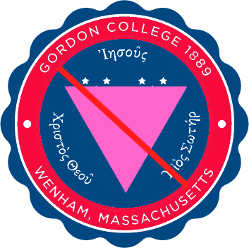 Gordon College logo anti LGBTQ