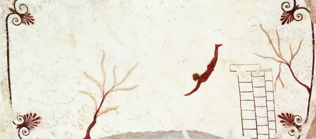 fresco from The Tomb of the Diver, c.475 BC