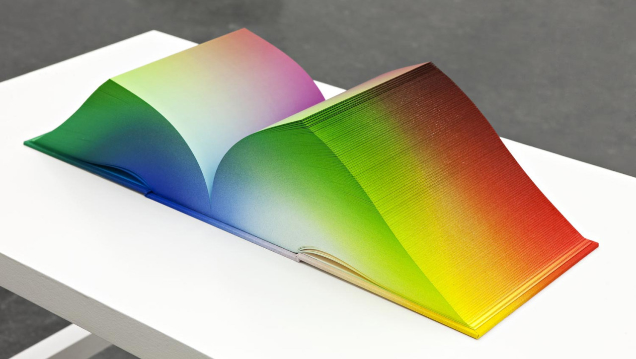 """Colorspace Atlas"" by Tauba Auerbach"