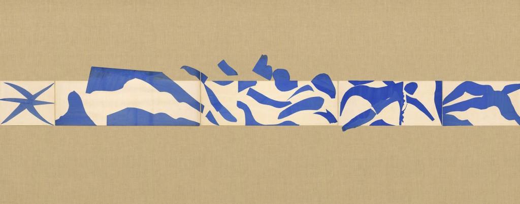 "Henri Matisse, ""The Swimming Pool"" (detail)"