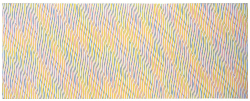 "Bridget Riley, ""Aurum"" (1976)"