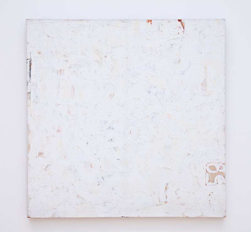 Robert Ryman, Untitled (1958)