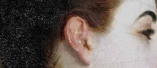 "John Sargent, ""Madame X"" (detail)"