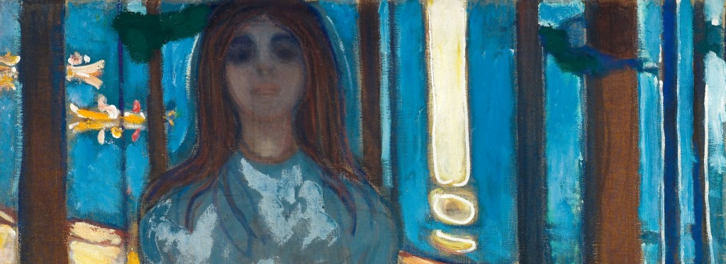 "Edvard Munch, ""The Voice / Summer Night"" (detail)"