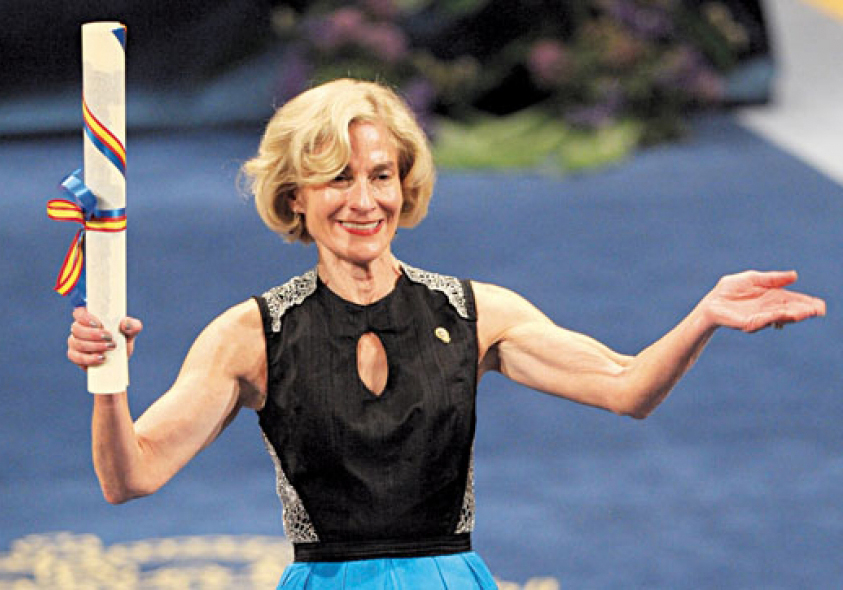 Martha Nussbaum at the 2012 Prince of Asturias Awards Presentation Ceremony