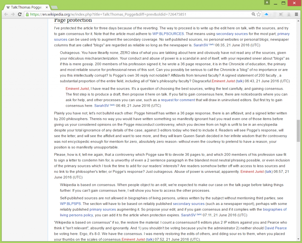Pogge wikipedia talk screenshot 2