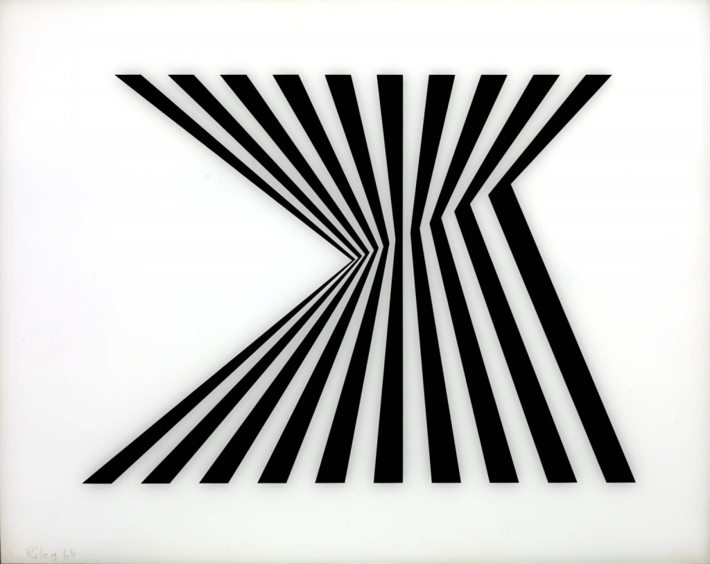 Fragment 1/7 1965 Bridget Riley born 1931 Purchased 1970 http://www.tate.org.uk/art/work/P07104