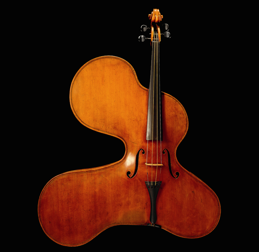 an overflowing violin (from the Danish Music Museum)