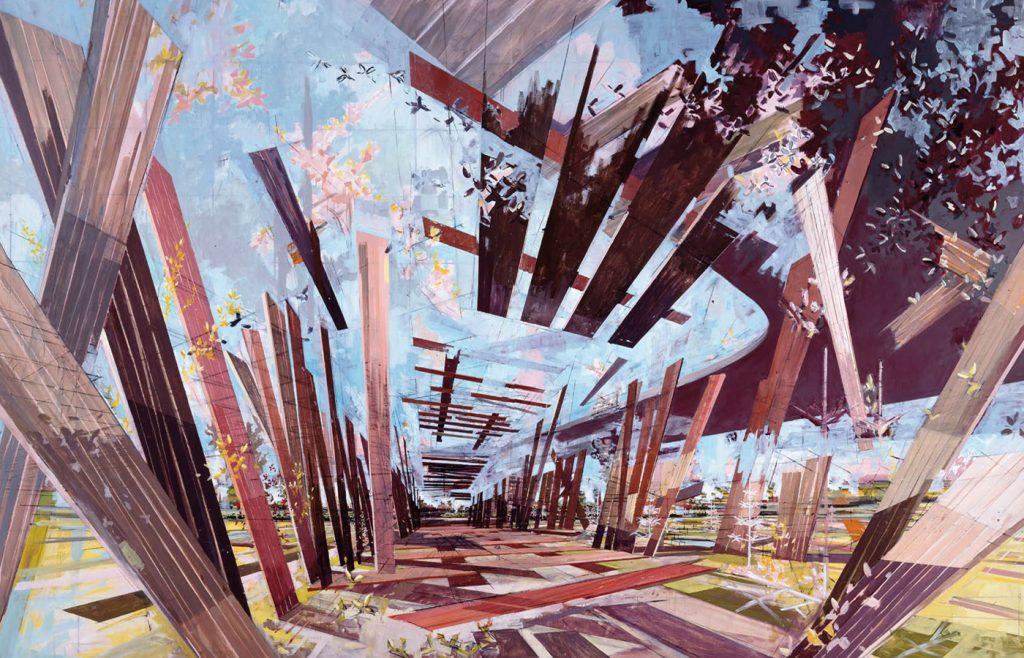 "David Schnell, ""Landscaping"""