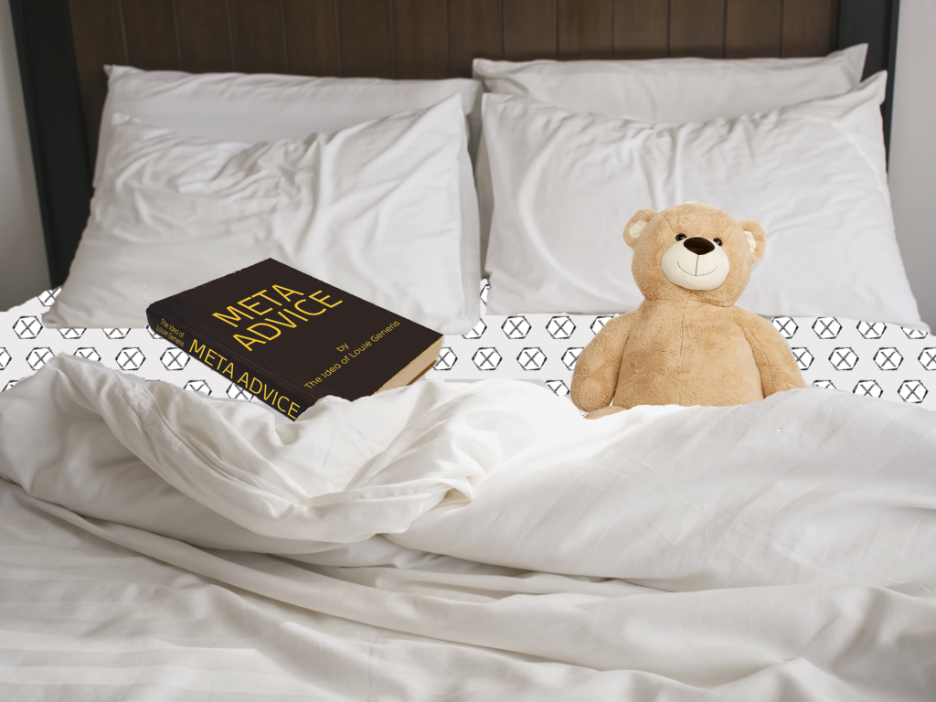 bear book bed