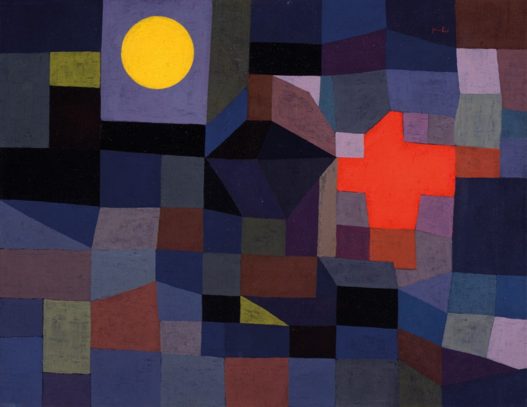"Paul Klee, ""Fire at Full Moon"""