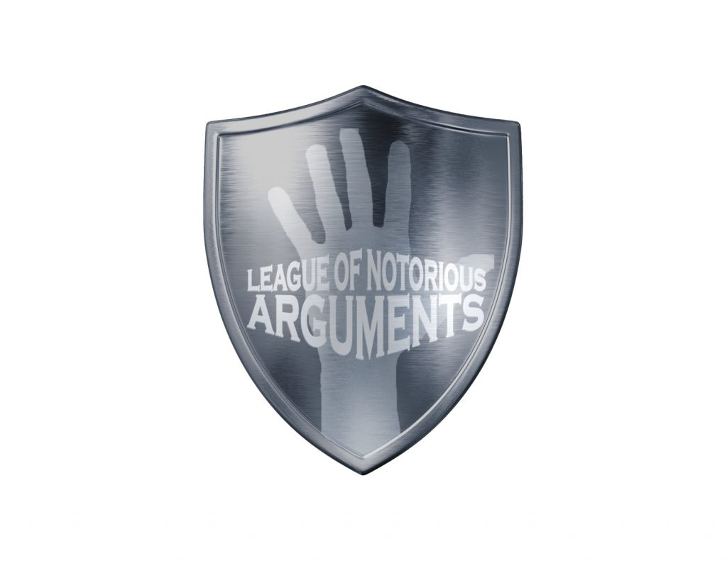 League of Notorious Arguments Shield
