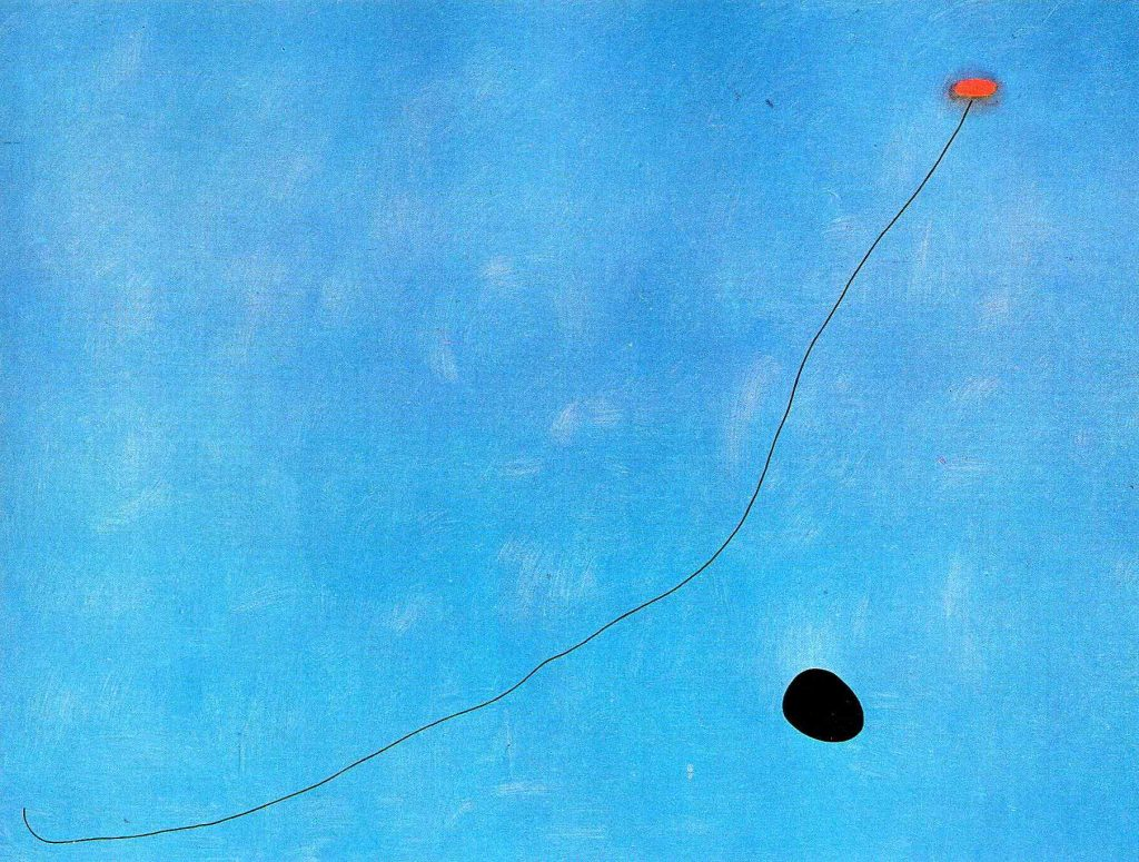 "Joan Miró, ""Blue III"""