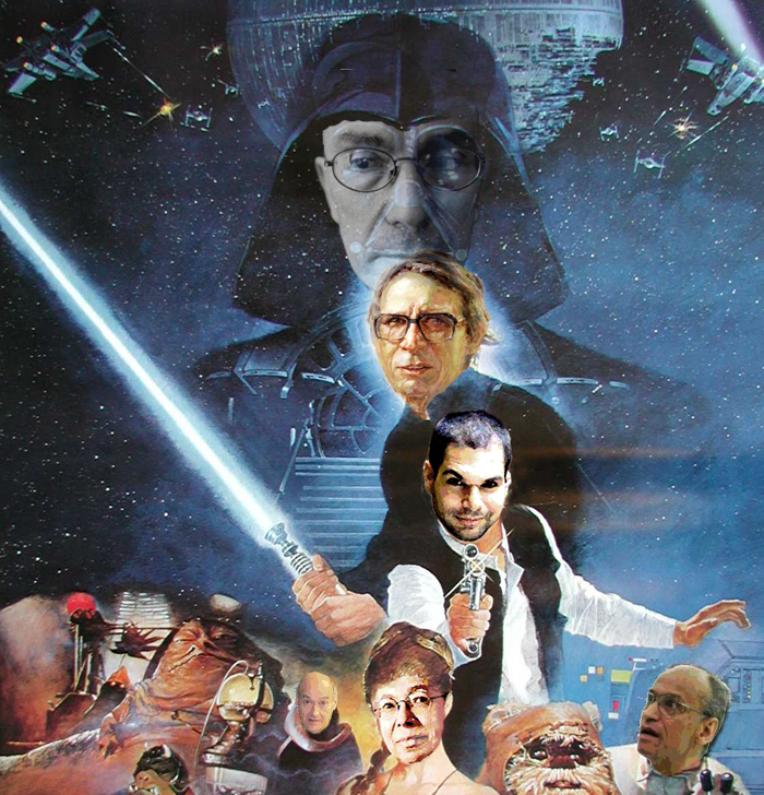 Return of the Intuitions Star Wars Poster