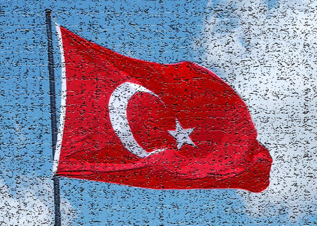 Turkish Flag filtered