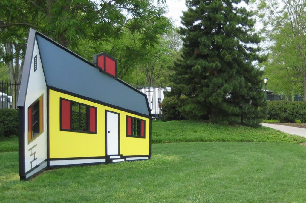 "Roy Lichtenstein, ""House I"""
