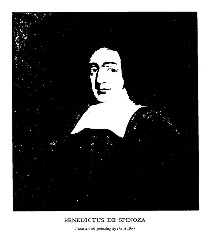 Hallet, Spinoza