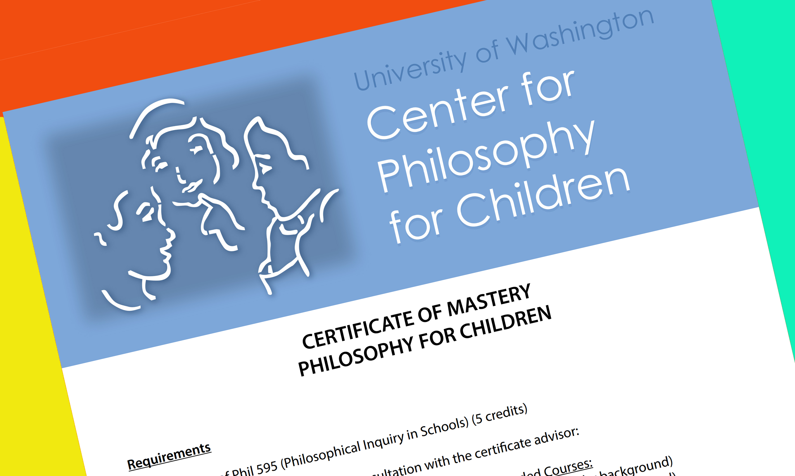 Univ  of Washington Creates Certificate of Mastery in
