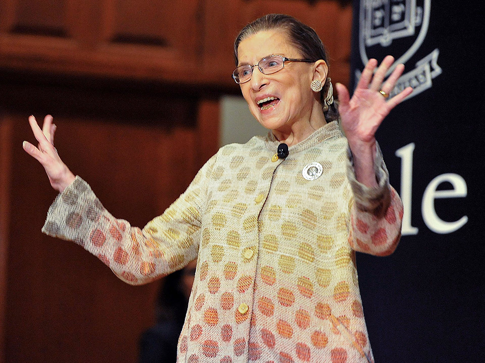 Justice Ruth Bader Ginsburg to receive $1 million Berggruen Prize
